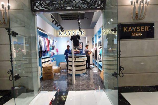 Kayser Men Showroom, Lahore